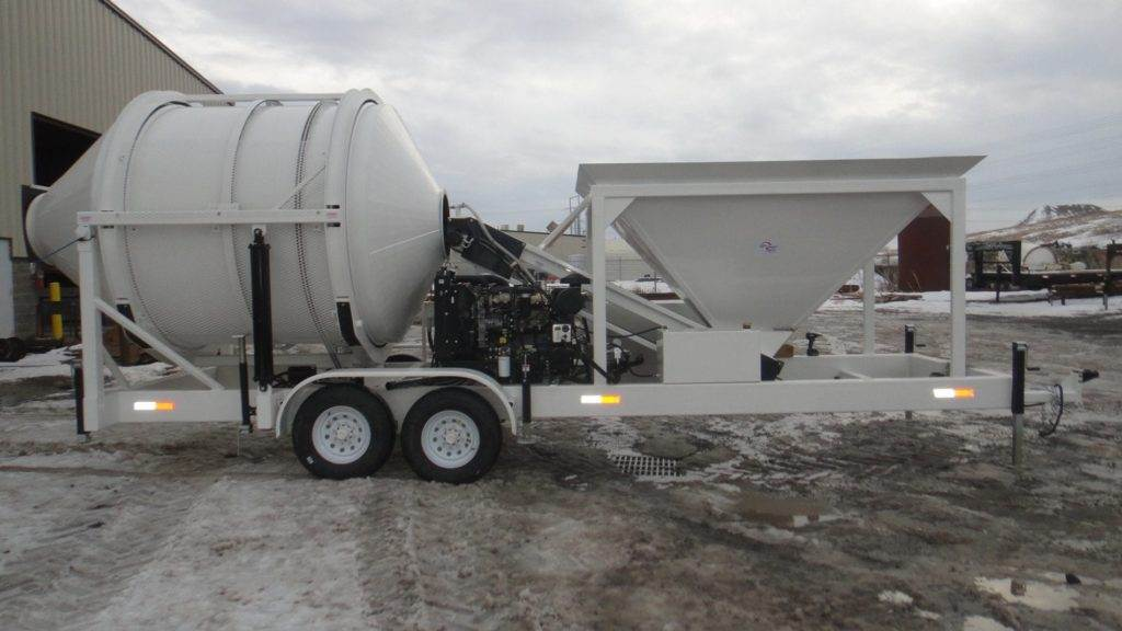 Portable Concrete Mixer Batch Plant EZ 4-5