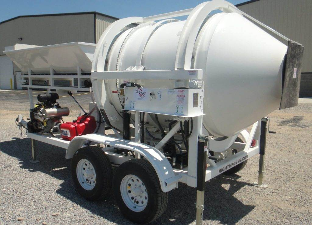 EZ1-1 Portable Concrete Mixer Batch Plant