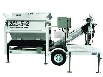 Portable Concrete Batching Plant 2CL-5-2