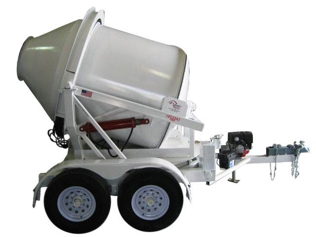 2dh S 2 Yard Portable Swivel Concrete Mixer Mix Right