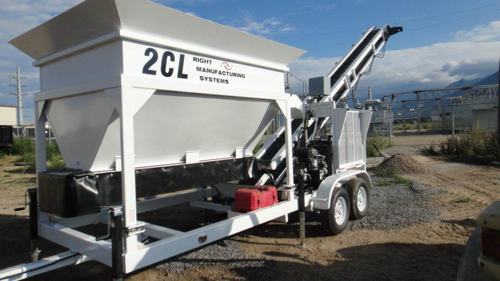 Mini Concrete Batch Plant Cube : Portable concrete batching plant cl cubic yard mix