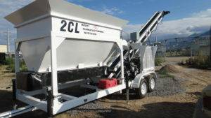 Portable Concrete Batching Plant 8+ Cubic Yards Mix Right 2CL-8 at Right Manufacturing Systems Inc.