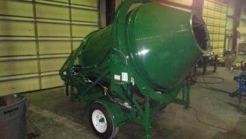 Custom Standard Portable Concrete Mixer 2DH-1