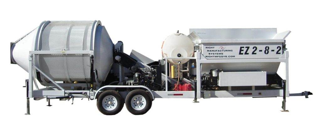Portable Concrete Mixer Batch Plant EZ 2-8-2