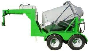 Custom Portable Concrete Mixer 3 Cubic Yards Mix Right 2DH-3 by Right Manufacturing Systems Inc.