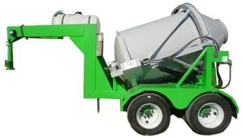 Custom Portable Concrete Mixer 2DH-3