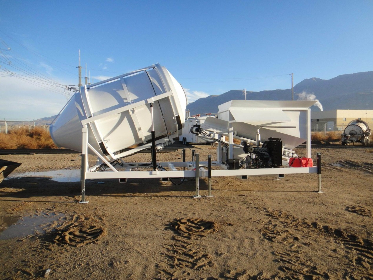 Custom Portable Concrete Mixer Batch Plant EZ 2-3